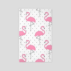 Cute Flamingo Area Rug