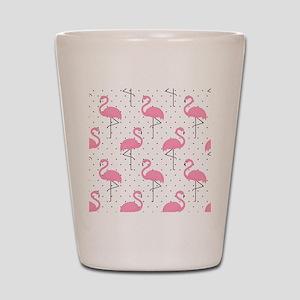 Cute Flamingo Shot Glass