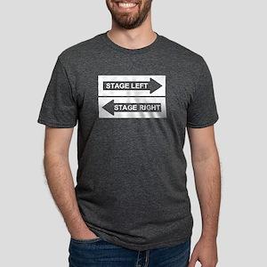 Stage Left Mens Tri-blend T-Shirt