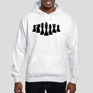 Chess game Hooded Sweatshirt