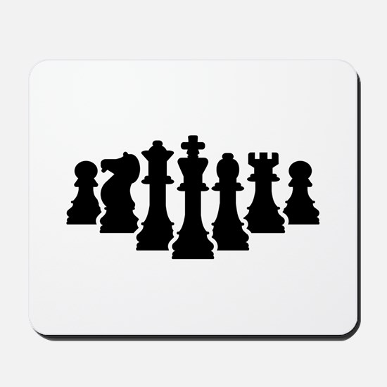 Chess game Mousepad