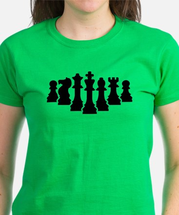Chess game Women's Dark T-Shirt