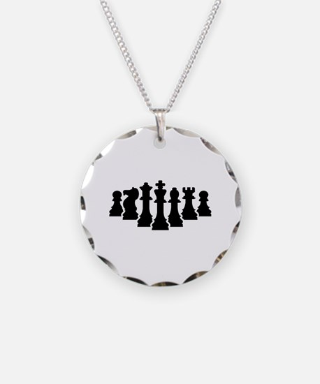 Chess game Necklace