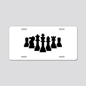 Chess game Aluminum License Plate