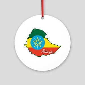 Cool Ethiopia Ornament (Round)