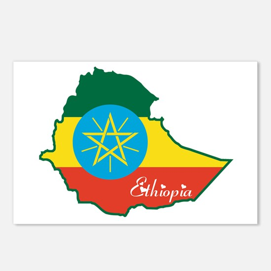 Cool Ethiopia Postcards (Package of 8)