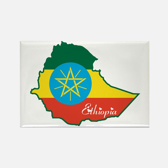 Cool Ethiopia Rectangle Magnet