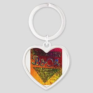 BOca Argentina Heart Keychain