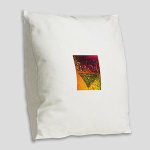 BOca Argentina Burlap Throw Pillow