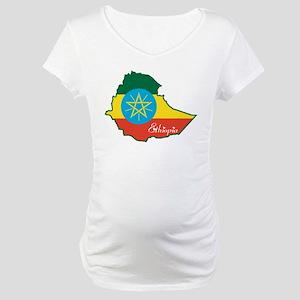 Cool Ethiopia Maternity T-Shirt