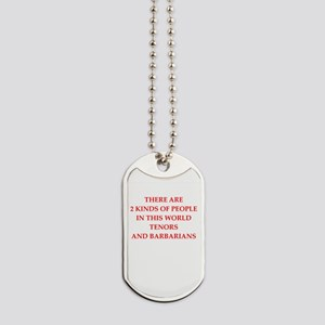 tenor Dog Tags