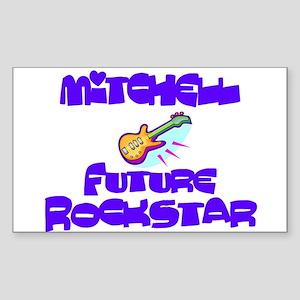 Mitchell - Future Rock Star Rectangle Sticker
