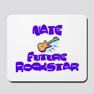 Nate - Future Rock Star Mousepad
