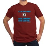 Fun&Games Men's Fitted T-Shirt (dark)