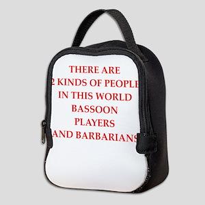 bassoon Neoprene Lunch Bag