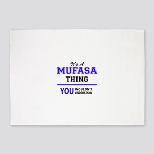 It's MUFASA thing, you wouldn't und 5'x7'Area Rug