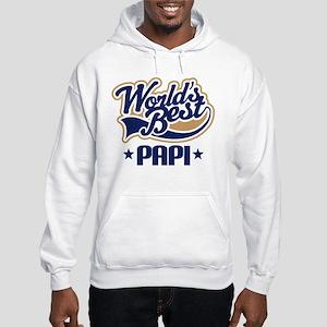 Worlds Best Papi Gift Idea Hoodie
