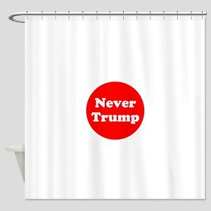 Never Trump, Anti Trump Shower Curtain