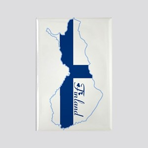 Cool Finland Rectangle Magnet