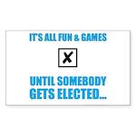 Fun&Games Sticker (Rectangle 10 pk)