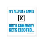 Fun&Games Square Sticker 3