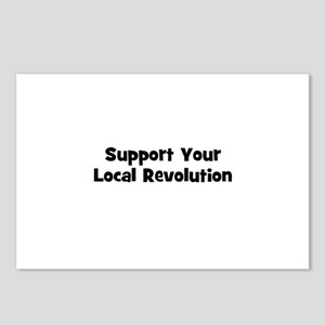 Support Your Local Revolution Postcards (Package o