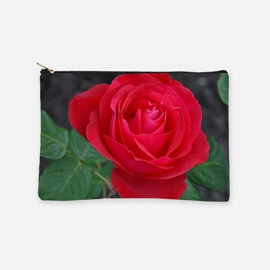 Single red rose Makeup Bag
