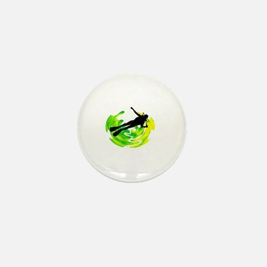 Cute Cozumel island Mini Button