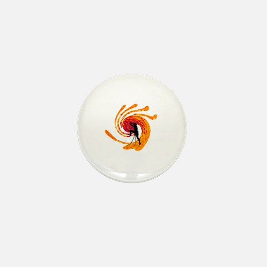 Cute Rockclimber Mini Button
