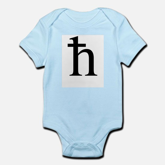 H bar front 2 Body Suit