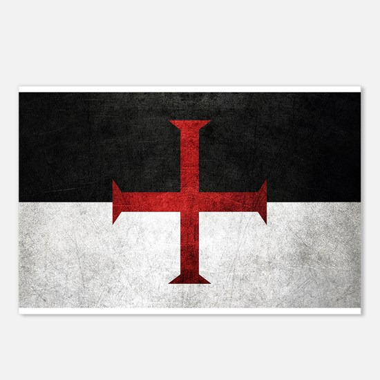 Flag of the Knights Templar Postcards (Package of
