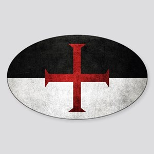 Flag of the Knights Templar Sticker