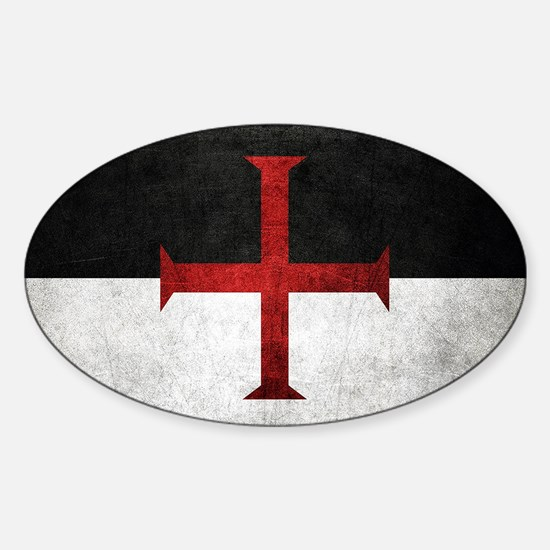 Flag of the Knights Templar Stickers