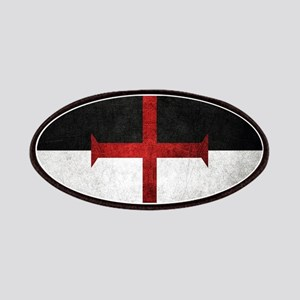 Flag of the Knights Templar Patch