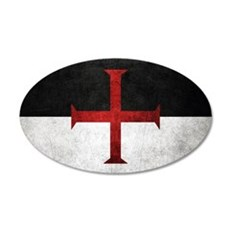 Flag of the Knights Templar Wall Decal
