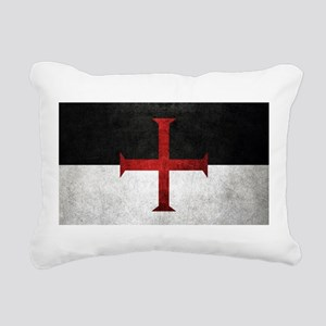 Flag of the Knights Templar Rectangular Canvas Pil