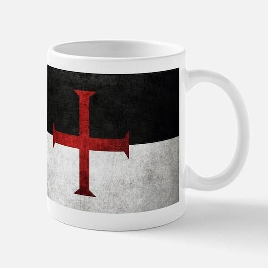 Flag of the Knights Templar Mugs