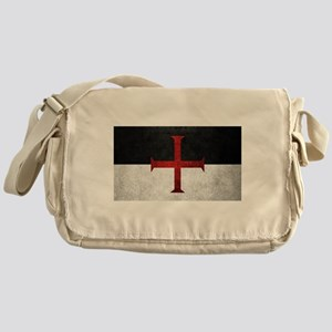 Flag of the Knights Templar Messenger Bag