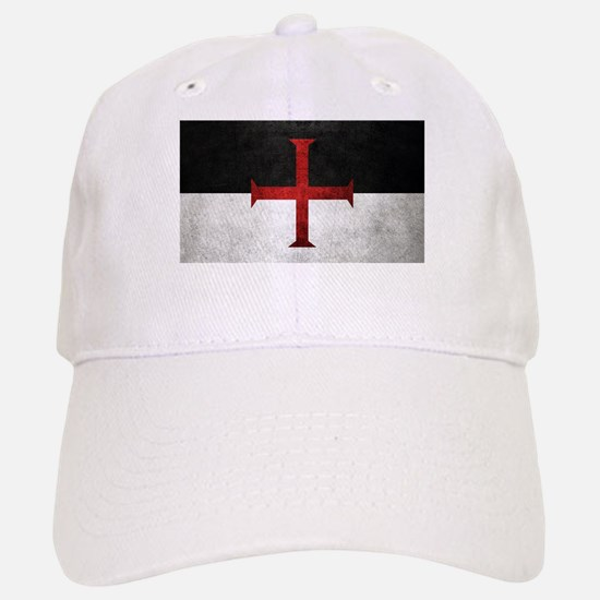 Flag of the Knights Templar Baseball Cap