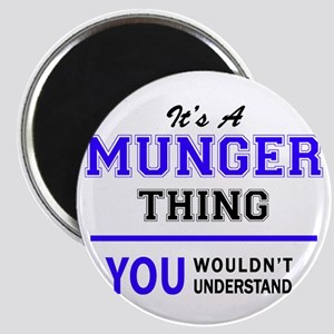 It's MUNGER thing, you wouldn't understand Magnets