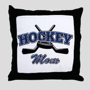 Hockey Mom Throw Pillow
