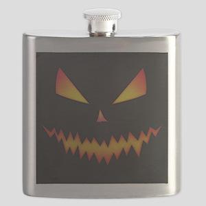 Jack-o-lantern Face Flask