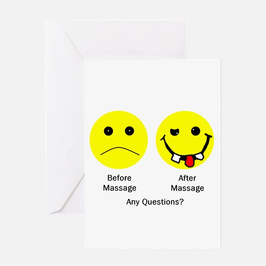 Any Questions Greeting Cards