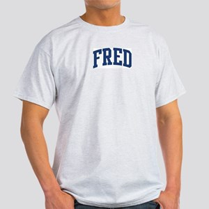 FRED design (blue) Light T-Shirt