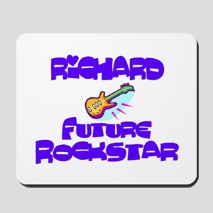 Richard - Future Rock Star Mousepad