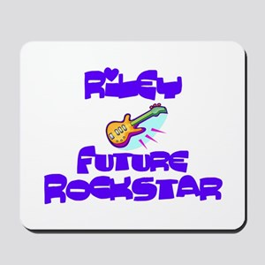 Riley - Future Rock Star Mousepad