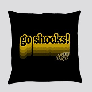 Wichita State Go Shocks Everyday Pillow