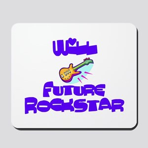 Will - Future Rock Star Mousepad
