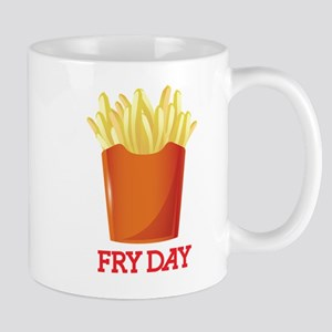 French fries day or Friday Mugs