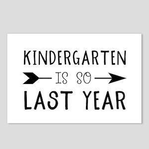 So Last Year - Kindergart Postcards (Package of 8)